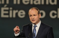 Micheál Martin hopes Brexit will lead to a vote on a reunited Ireland