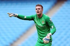 Pep Guardiola gives Irish goalkeeper a chance to impress on Man City's pre-season tour