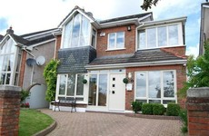 A gorgeous double-fronted redbrick house is for sale in Lucan