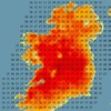 This ridiculous Met Éireann map of Ireland shows how scorching it's going to be today