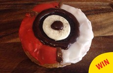 A bakery in Dublin is now selling cronuts designed as Pokéballs
