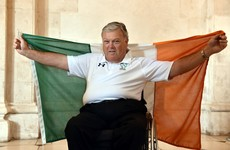 John Twomey: Ireland's flag bearer will be competing at his 11th (!) Paralympic Games