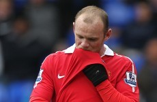 Rooney won't play away from home against Valencia