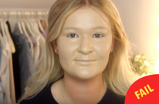 A beauty blogger put 100 layers of foundation on her face and it was truly disturbing