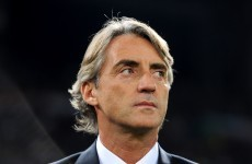 Mancini doesn't fancy City's Champions League chances