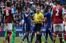 New rules mean swearing at referees will earn Premier League players a red card