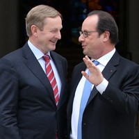 """President Hollande recognises Ireland is a """"special"""" case in Brexit talks"""