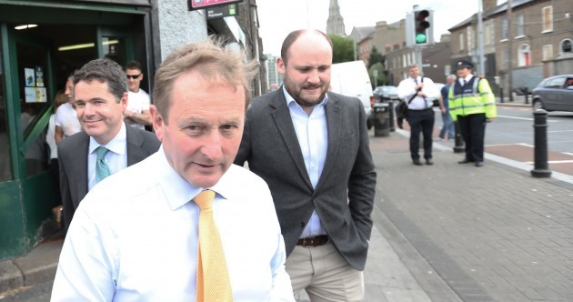 Enda Kenny's been visiting inner city Dublin and it's been going quite well