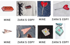 Zara suspended sales of some of its clothes after artist accused the retailer of copying her designs