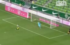 Goalkeeper scores Panenka, then saves three penalties in Champions League qualifier