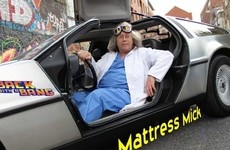 Mattress Mick might actually be DJing at this Dublin festival