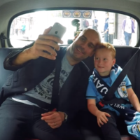'Whenever you need a friend, come to my house for tea': Pep Guardiola surprises 7-year-old fan