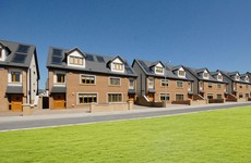 There is just one house left in this Rathcoole development