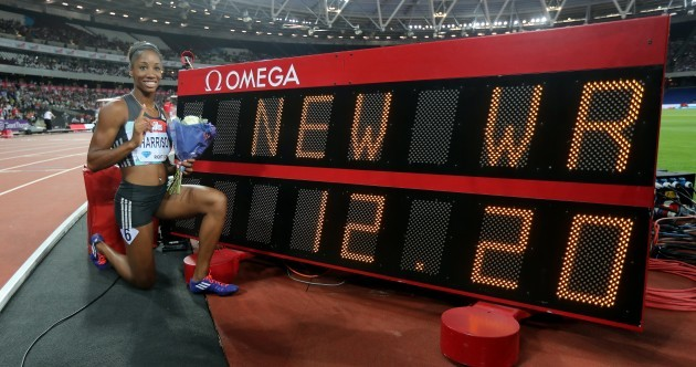 Kendra Harrison breaks 28-year-old world record - weeks after missing out on US Olympic team