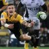 TJ Perenara stars as Hurricanes blow Sharks away in Super Rugby 1/4 final