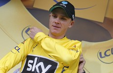 Chris Froome on brink of third Tour de France title, Dan Martin still in top 10