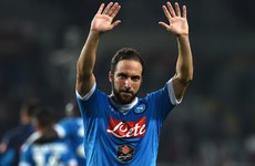 Gonzalo Higuain closes in on €94million Juventus move