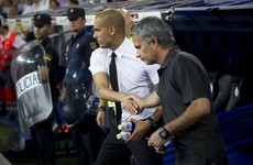 Guardiola brushes off suggestions he won't shake Mourinho's hand ahead of first Manchester derby