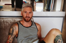 Messi cuts short holiday and he (and his new blonde hair) could now feature in Dublin friendly