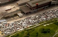 14-hour delays see traffic at standstill at English port of entry into France