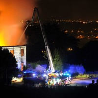 Gardaí are looking for witnesses after major blaze hits historic Cork mansion