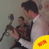 A band in Cork helped this guy out with his very romantic proposal