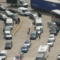 Delays begin to ease at Dover as port chief says he is 'ashamed' about tailbacks