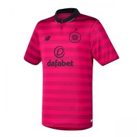 Celtic's new bright pink away jersey was inspired by a match ticket