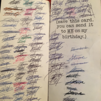 These lads have been sending each other the same card for 47 years