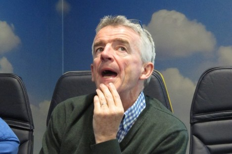 """Michael O'Leary says he was """"surprised and disappointed"""" by the Brexit vote."""