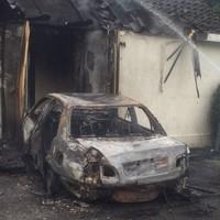 Firefighters battle blaze after car crashes into gate lodge at Dunsink Observatory