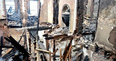 In photos: Cork's historic Vernon Mount House completely gutted by fire