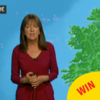 Evelyn Cusack proved she is a queen during this morto Six One weather feck up