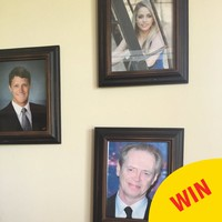 This lad replaced family photos with pictures of Steve Buscemi, and his mam didn't even notice