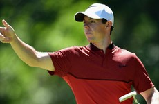Rory McIlroy fancies his chances at the US PGA this weekend