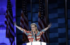 Meryl Streep's passionate speech in support of Hillary Clinton stole the show last night