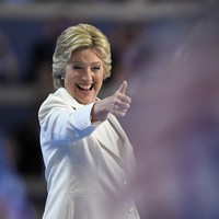 'Herstory' - Hillary Clinton accepts Democratic presidential nomination