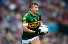 3 changes for Kerry as James O'Donoghue to make first start since 2015 All-Ireland final