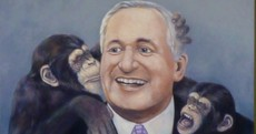 Bertie, Michael D and Joe Duffy - all on sale at art auction today