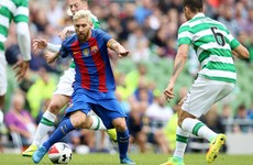 47,000 fans turn up to watch Barcelona ease to victory over Celtic in Dublin