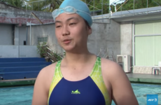 Kids, beer bottles and a public pool - how 14-year-old Laos swimmer trains for Rio Olympics