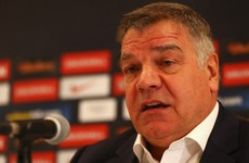 Allardyce warns: I'll have to use reserve players for England