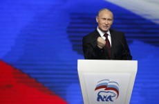 Vladimir Putin tells West not to interfere in Russian politics