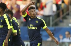 This brilliant Oxlade-Chamberlain effort was the highlight as Arsenal won last night