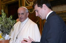 Messi is better than Pele and Maradona, says Pope Francis