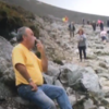 This lad having a sneaky smoke on Croagh Patrick sums up our feelings about hiking