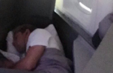 Niall Horan's lost the head after a fan took a picture of him asleep ... It's The Dredge
