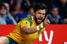 Bordeaux-Begles aren't a bit happy with Adam Ashley-Cooper's inclusion in the Australia squad