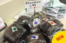 This cafe has come up with a genius way to sell their brownies