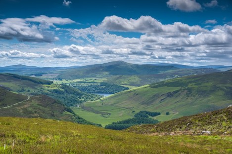 Luggala Valley, part of the expanding Wicklow Mountains National Park.